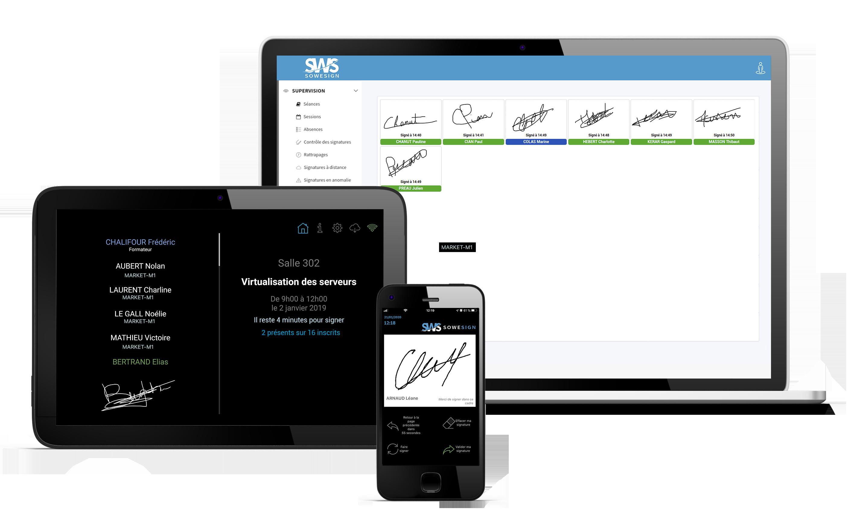 Signature en ligne en mobilité et actu V2